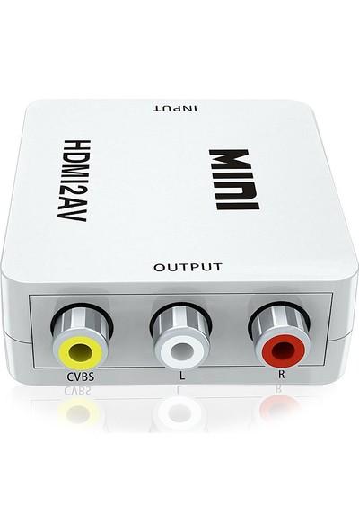HDMI to AV RCA Kompozit Dönüştürücü