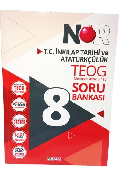 Nar TEOG T.C İnkılap Tarihi ve Atatürkçülük Soru Bankası - Yaprak Test - Deneme Set Gama Yayınları