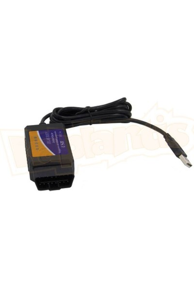 ELM327 Araç Arıza Tespit Cihazı OBD2 V1.5 (USB)