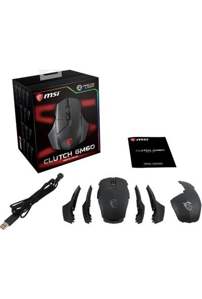 MSI Clutch GM60 RGB Oyuncu Mouse