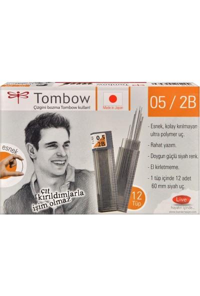 Tombow Classıc Tüp 0.5 Mm 2B 12 Adet