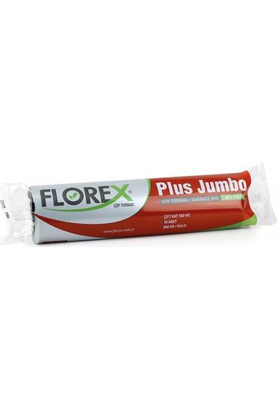 Florex Plus Jumbo Çöp Torbası C Katlama 80 X 110 Cm