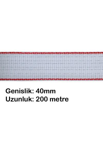 Ako At & Taylara Özel 40mm 200mt Elektrikli Çit Teli İletken Bant