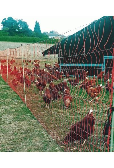 Ako Tavuk Kümes Hayvanları İçin File Tipi Elektrikli Çit Sistemi