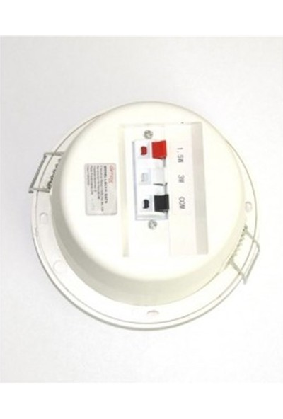 Denox LSC111 BATH - 100V 3W Neme Dayanıklı Tavan Hoparlörü