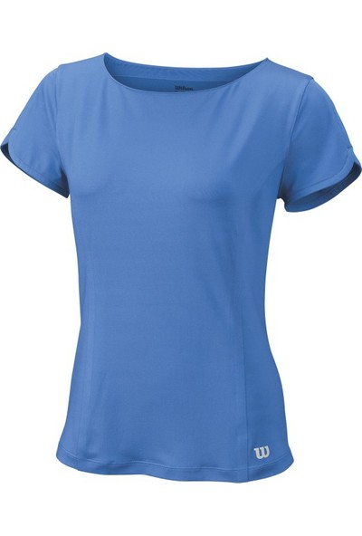 Wilson Star Crossover Cap Sleeve Top Kadın T-Shirt Regatta (M) (WRA748401MD)