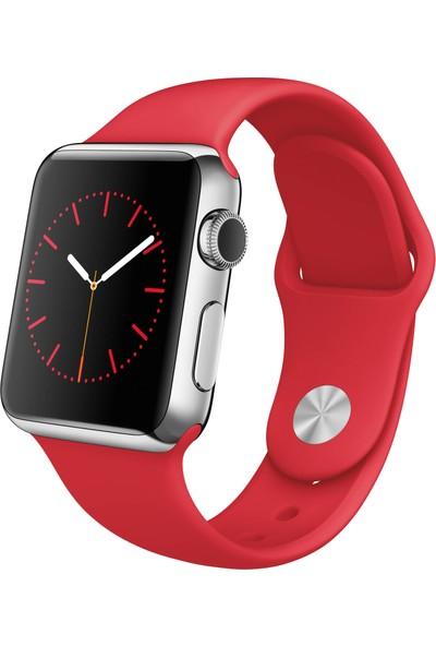 Apple Watch 38 Mm Mlld2Tu/A Ss Red Sport Kordon