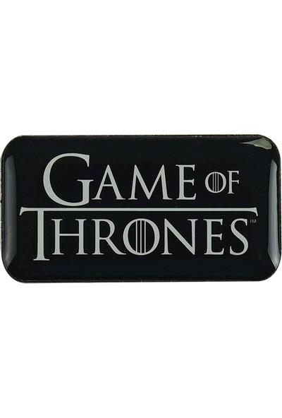 Game Of Thrones Yaka Rozeti Siyah