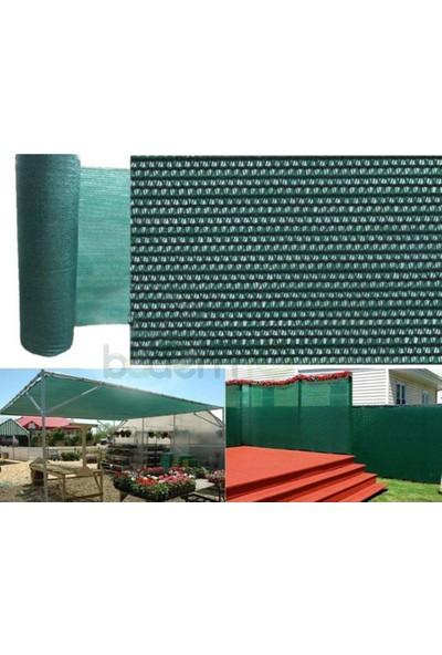 Badem10 Gölgelik Branda Yeşil Kumaş Gölgelik File %75 En 3X10 Metre