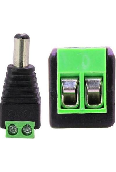 Rewel Power Erkek Konnektör 5 5 2 1 Mm