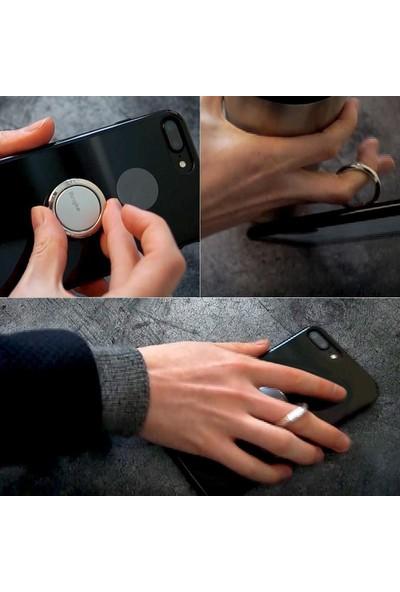 Ringke Ring- Telefon Yüzüğü- Stand- Araç Tutacağı - Rose Gold