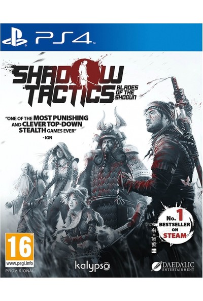 Kalypso Shadow Tactics Blades Of The Shogun PS4 Oyun
