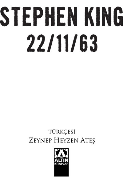 22/11/63 - Stephen King