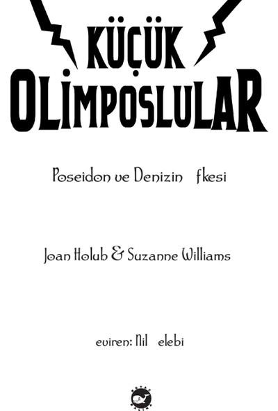 Küçük Olimposlular (2. Kitap) - (Poseidon ve Denizin Öfkesi) - Suzanne Williams