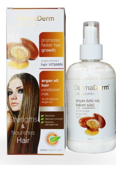 Dermaderm Argan Özlü Saç Bakım Sütü 250 Ml Kırık Tedavi Edici