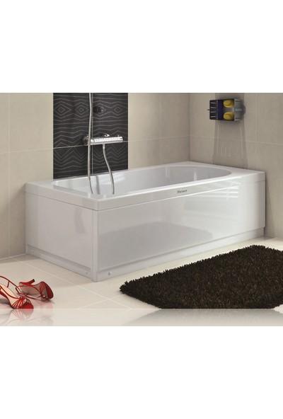 Shower Düz Mini Küvet (Oturmasız) 80*140