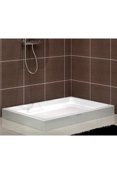 Shower Dikdörtgen Monoblok Duş Teknesi 70*100