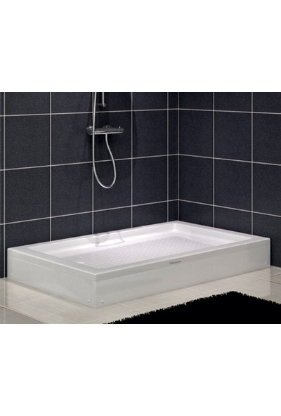 Shower Dikdörtgen Duş Teknesi(Panelli) 70*100