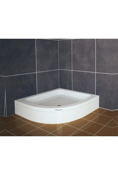 Shower Oval Duş Teknesi (Panelli) 100*100