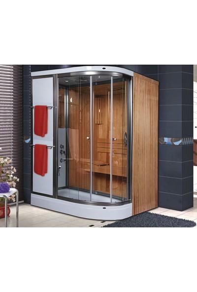 Shower Alonza Sauna & Compact 80*160 Sistem - Iı -