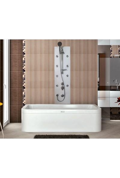 Shower Carolıno Şok Duş Sistemi Siyah