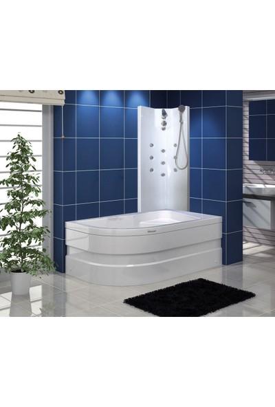 Shower Capua Şok Duş Sistemi Kırmızı