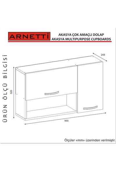 Arnetti Akasya Banyo Dolabı