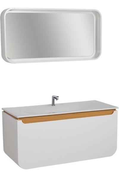 Creavit Pion 120 cm Banyo Dolabı
