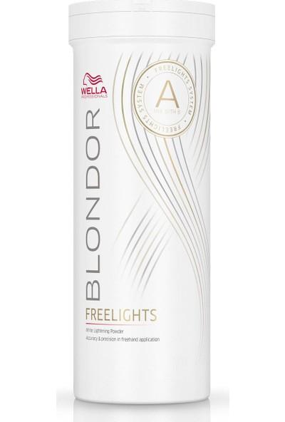 Wella Blondor Freelights Powder Toz Açıcı 400Gr