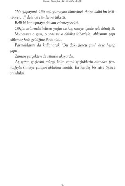 Ela Gözlü Pars Celile - Osman Balcıgil