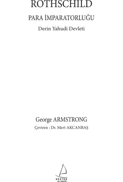 Rothschild - Para İmparatorluğu - George Armstrong