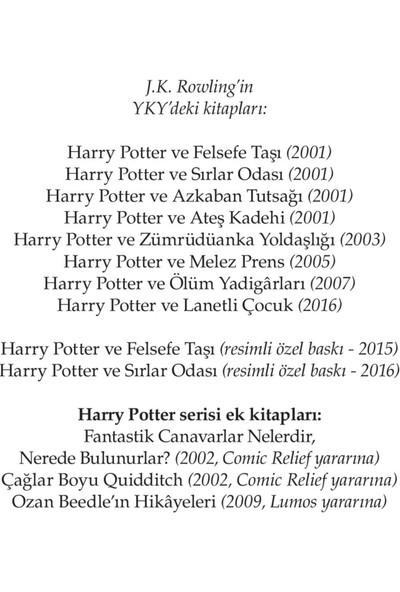 Harry Potter ve Sırlar Odası - J. K. Rowling