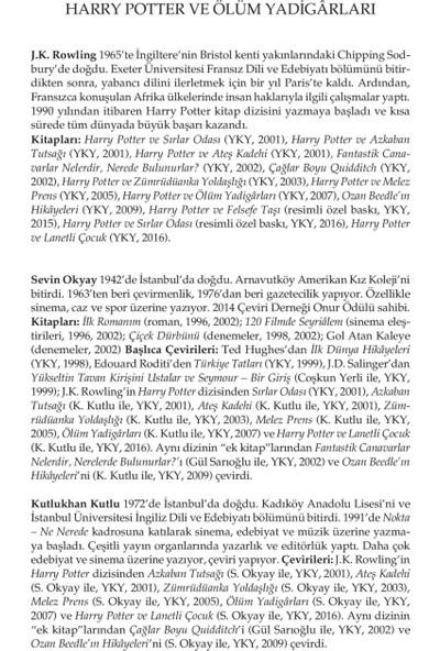 Harry Potter ve Ölüm Yadigarları - J. K. Rowling