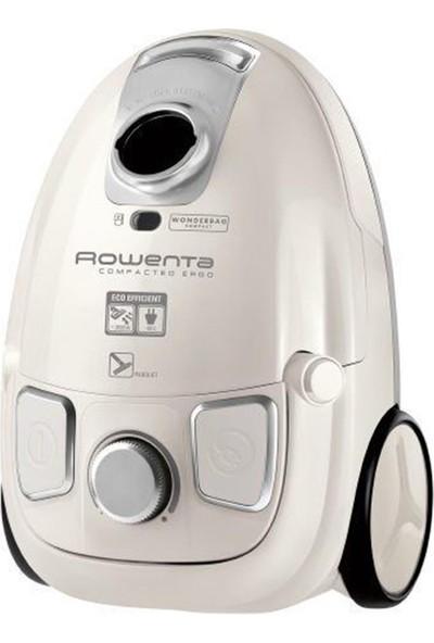 Rowenta ROW RO5254TA Compacteo Ergo Parquet Beyaz Toz Torbalı Süpürge