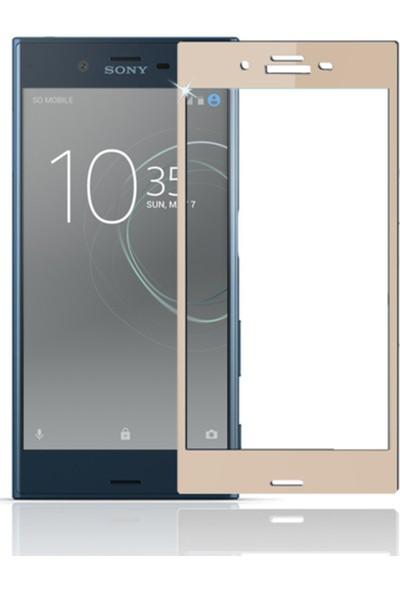 Gpack Sony Xperia X Renkli Full Kaplayan Beyaz