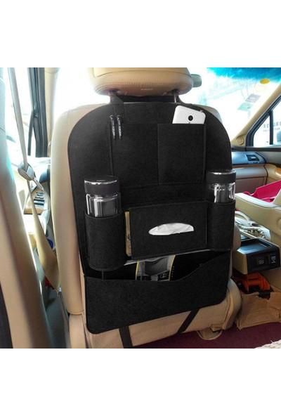 Momz Araba Koltuk Arkası Eşya Düzenleyici Seat Back Organizer Siyah