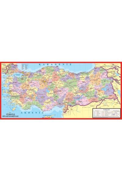 Puzz K.Color 32 x 68 Büyük Boy Bölgesel Türkiye Yapboz