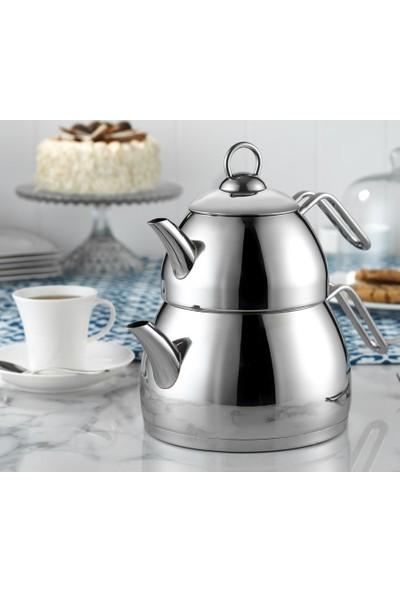 Kütahya Porselen Gizem Çaydanlık Takımı