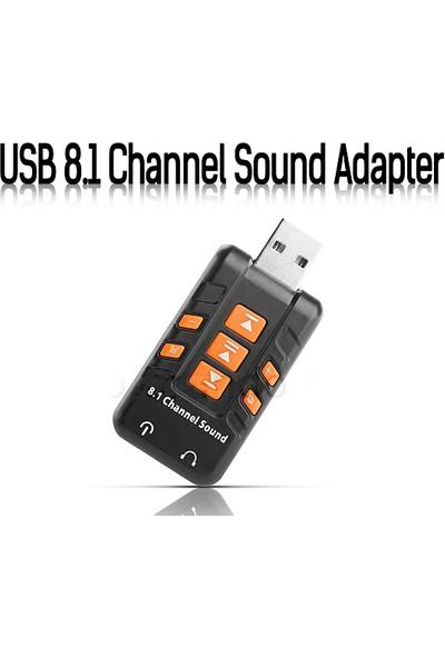 Platoon Usb 8.1 Kanal Ses Kartı Multi Fonksiyon