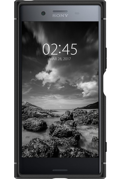Spigen Sony Xperia XZ Premium Kılıf Rugged Armor Black - G10CS21968