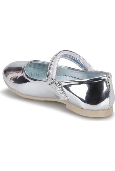 Frozen 90450T Gümüş Kız Çocuk Babet