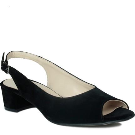 Loggalin 375109 031 008 Siyah Kadın Sandalet
