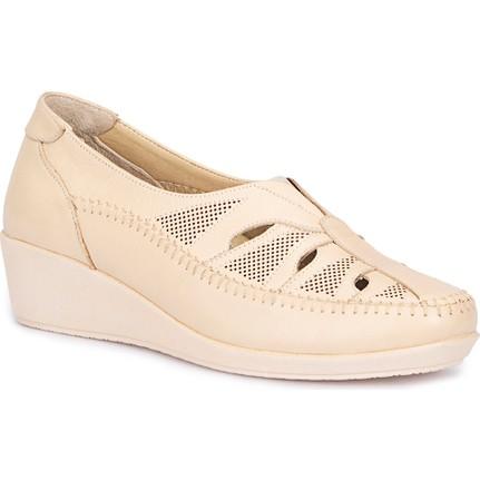 Polaris 5 Nokta 71.109633.Z Bej Dolgu Topuk Kadın Ayakkabı