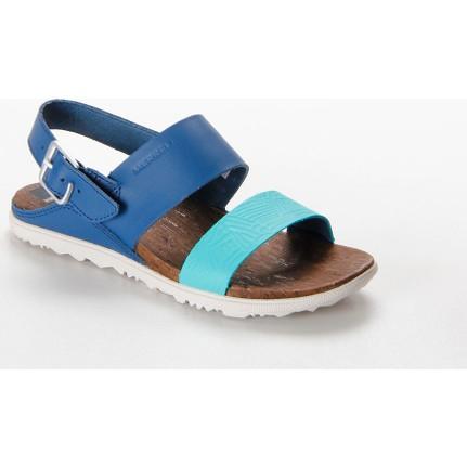 Merrell  J03716 J03716.Pso Mavi  Around Town Backstrap Prınt Kadın Sandalet