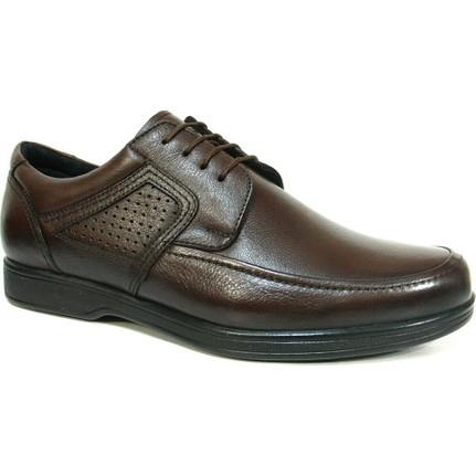 Nobilta 4277 Kahverengi Bağcıklı Comfort Erkek Ayakkabı