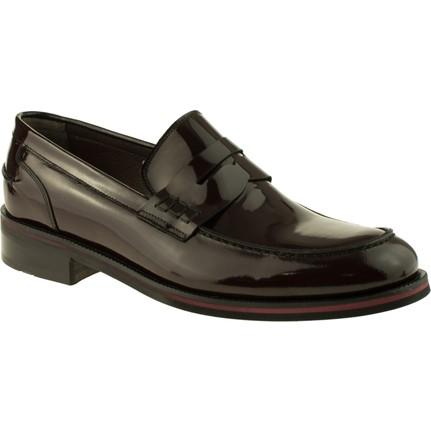 Fosco 6100 Neolit Taban Klasik Bordo Erkek Ayakkabı