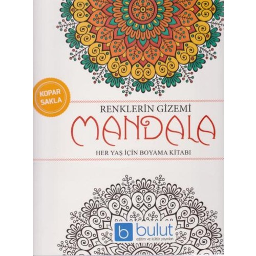 Renklerin Gizemi Mandala Her Yas Icin Boyama Kitabi Fiyati