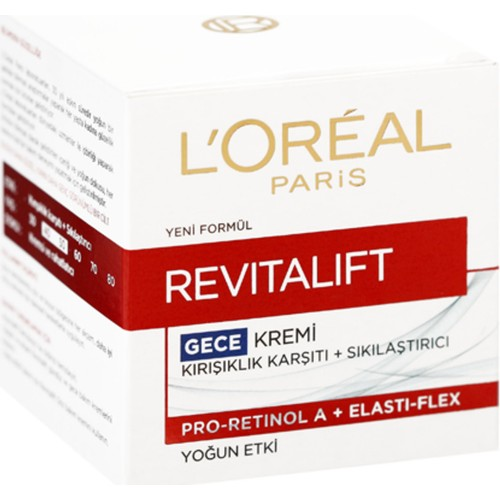Loreal Paris Dermo Expertise Revitalift 50 Ml Gece Kremi