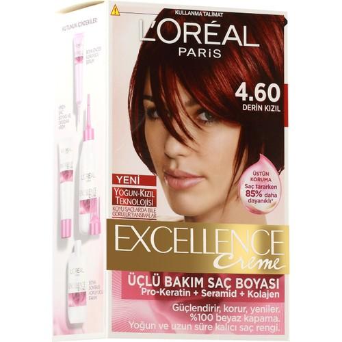 Loreal Paris Excellence 4/60 - Derin Kızıl Saç Boyası