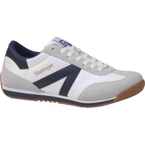 Slazenger Mad White / Navy Spor Ayakkabı